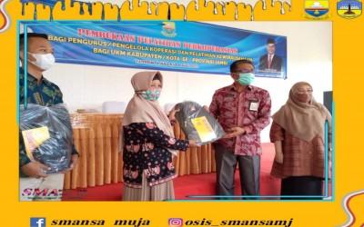 Perwakilan Pengurus KPN SMAN 1 Muaro Jambi Ikuti Pelatihan Perkoperasian di Arafah Resort Danau Kerinci