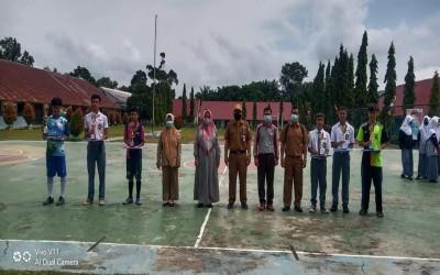 OSIS SMAN 1 Muaro Jambi Adakan Class Meeting (SMANSA CUP 2021)