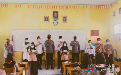 Kesbangpol Kab. Muaro Jambi Adakan Sosialisasi Bela Negara di SMAN 1 Muaro.Jambi
