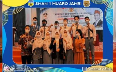 Perwakilan Siswa SMAN 1 Muaro Jambi Ikuti Kegiatan Pengembangan Karakter Peserta Didik Tahun 2021