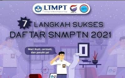 Supaya Sukses Daftar SNMPTN 2021, Perhatikan 7 Langkah Ini Saat Registrasi