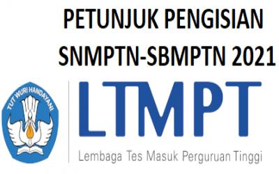 Petunjuk Cara Pengisian dan Dokumen Portofolio SNMPTN-SBMPTN 2021