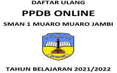 FORMULIR DAN BERKAS DAFTAR ULANG PPDB 2021