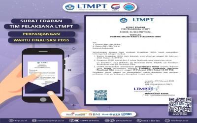 LTMPT Perpanjang Waktu Finalisasi PDSS Hingga 10 Februari 2021